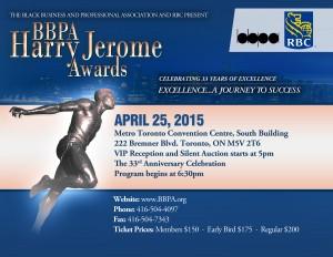 2015 BBPA Harry Jerome Awards