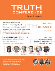 The Truth Conference - 2015 - Poster