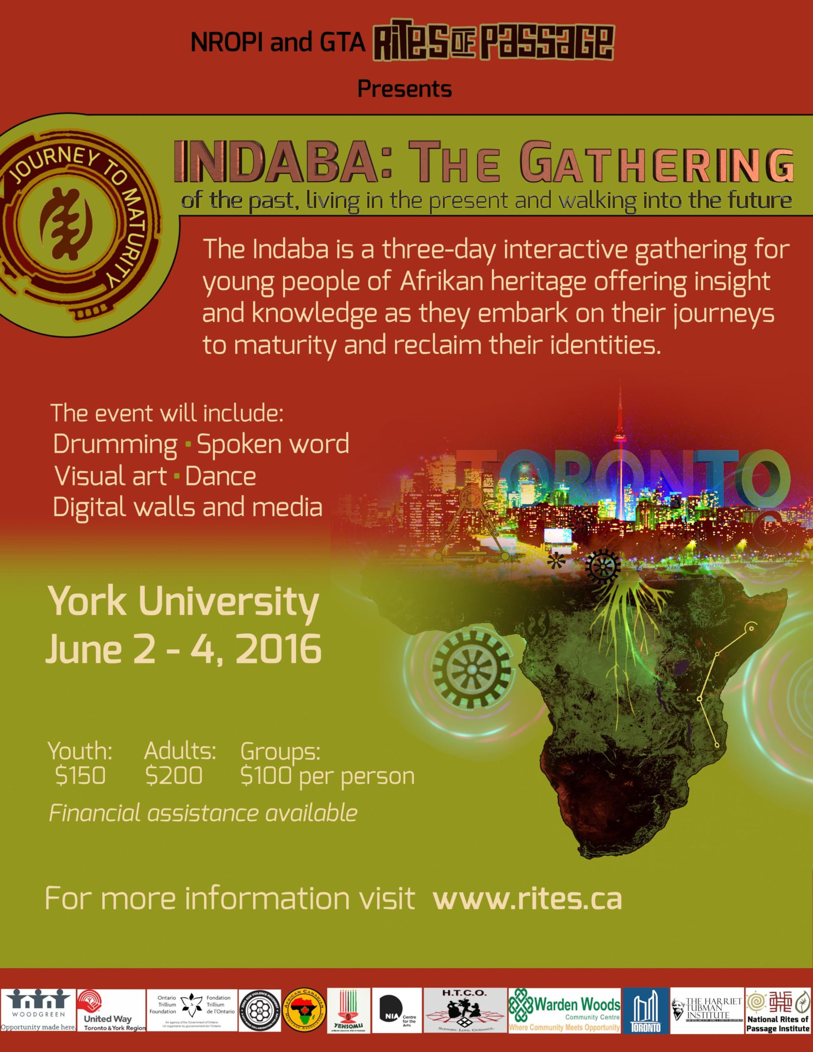 The Dr. Vibe Show™ Will Be Sharing At The Indaba Youth Conference – June 2 – 4, 2016 At York University In Toronto