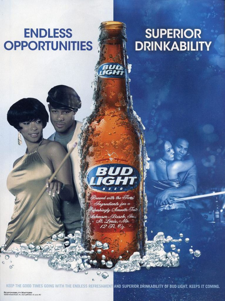 alcohol advertising to youth Youth's affective responses to the various elements featured in alcohol advertise-ments (eg, music, animal characters, people characters, storylines.