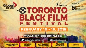 2015 TORONTO BLACK FILM FESTIVAL